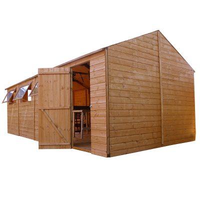 20 x 10 Apex Wooden Workshop Shed_6