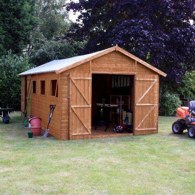 20 x 10 Apex Wooden Workshop Shed_2