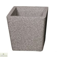 Grey Conical Garden Planter