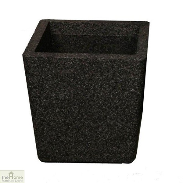 Black Conical Garden Planter