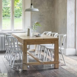 Brookville 6 Seater Pine Dining Table_1