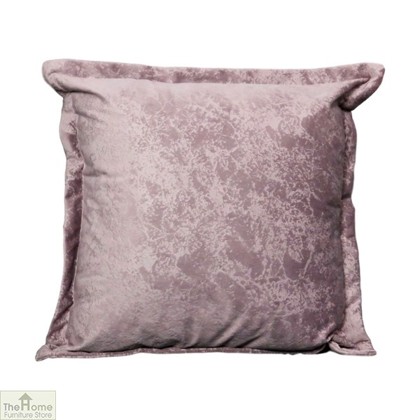 Pink Crushed Velvet Cushion Cover