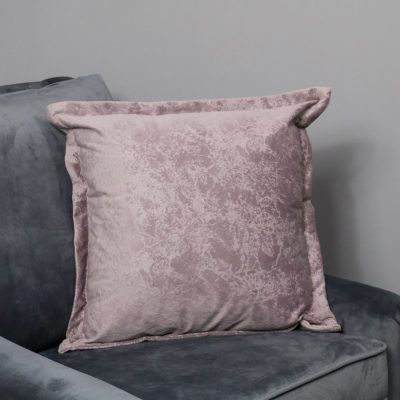Pink Crushed Velvet Cushion Cover_1