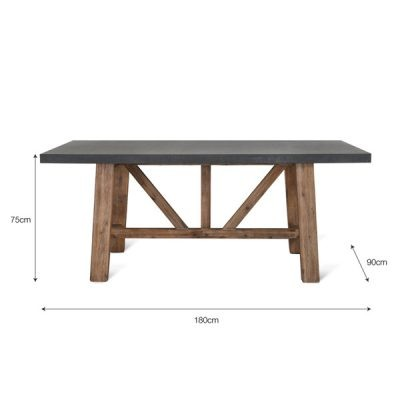 Chilson Small Rectangular Dining Table_3