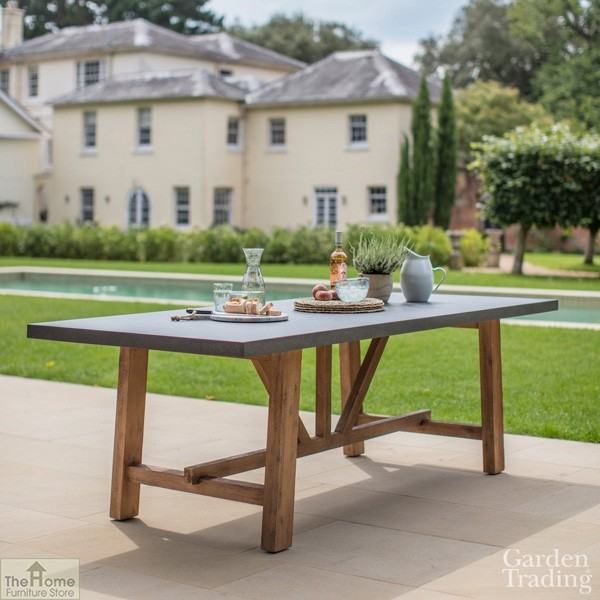 Chilson Small Rectangular Dining Table, Garden Trading Chilson Console Table