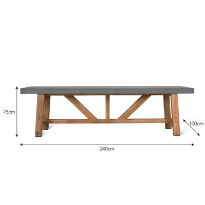 Chilson Large Rectangular Dining Table_4