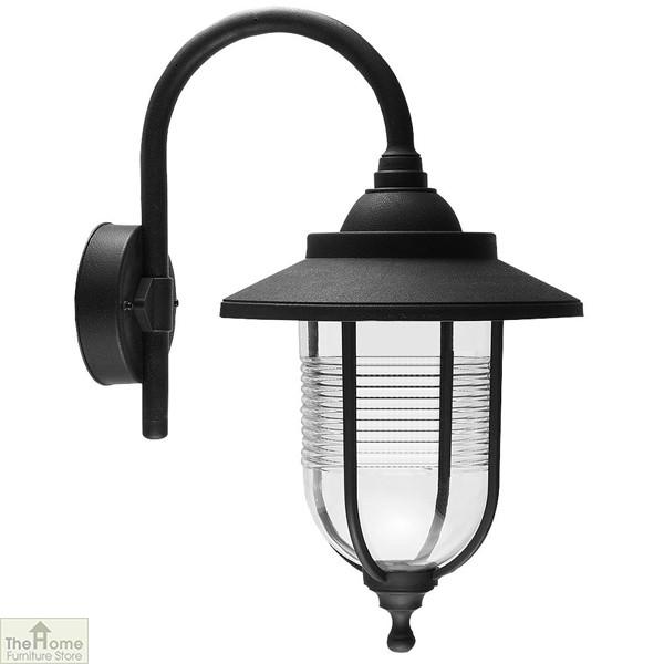 Black Outdoor Wall Light Lantern