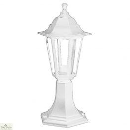 White Lantern Garden Light