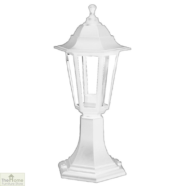 White Lantern Garden Light