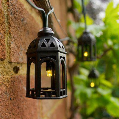 Solar Moroccan Lantern String Lights_1