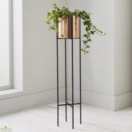 Bronze Large Plant Holder Stand_1