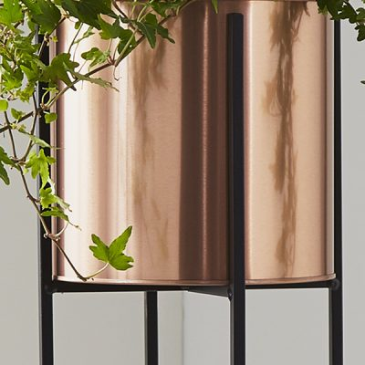 Bronze Large Plant Holder Stand_2