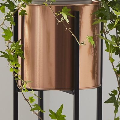 Bronze Small Plant Holder Stand_2