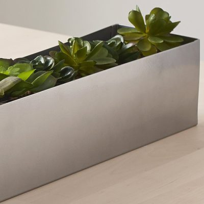 Long Centrepiece Table Plant Holder_2