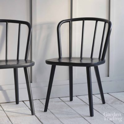 Carbon Spindle Back Dining Chair_1