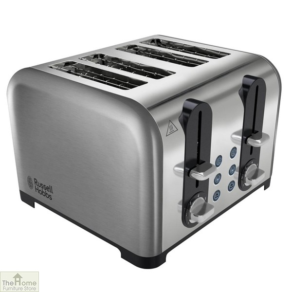 Stainless Steel 4 Slice Toaster