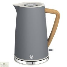 Grey Nordic 1.7L Cordless Kettle