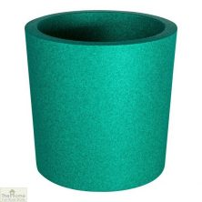 Green Round Garden Flower Pot