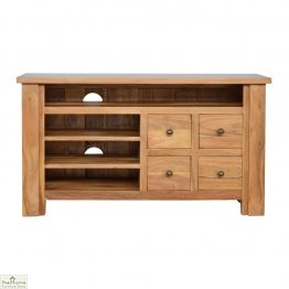 Boston Solid Wood Media Unit