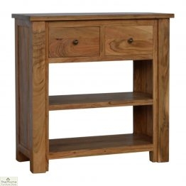 Boston Solid Wood Console Table_1