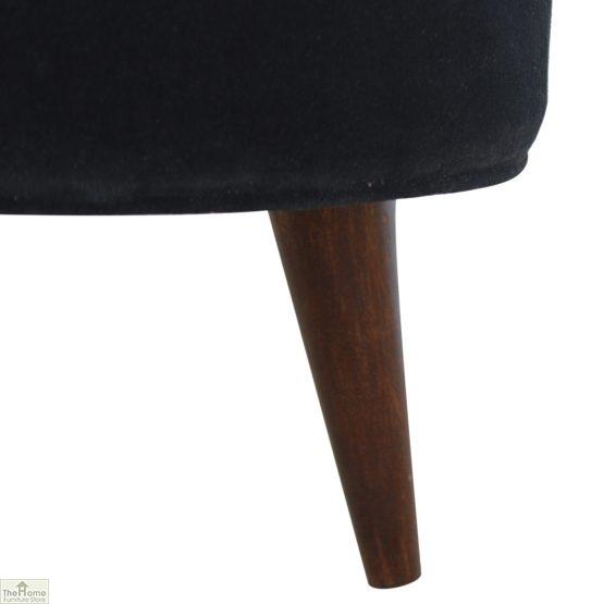 Nordic Style Velvet Upholstered Stool_13