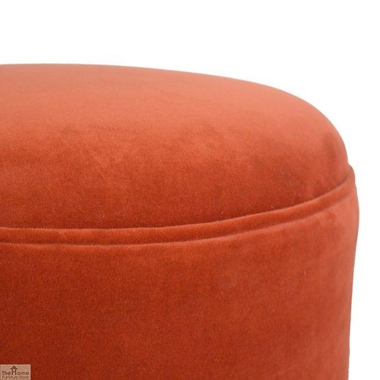 Nordic Style Velvet Upholstered Stool_9
