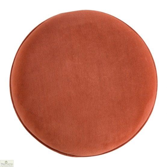 Nordic Style Velvet Upholstered Stool_10