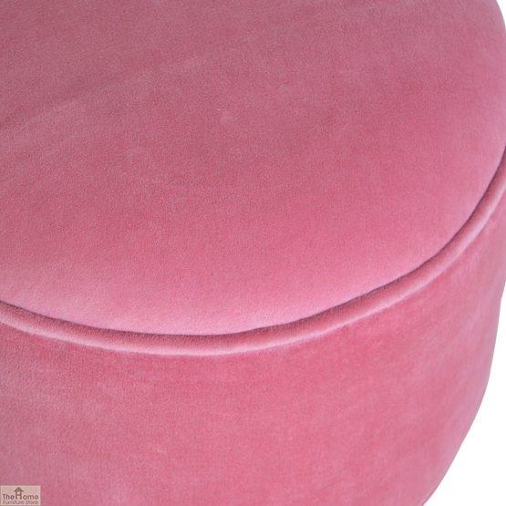 Nordic Style Velvet Upholstered Stool_20