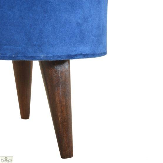 Nordic Style Velvet Upholstered Stool_33