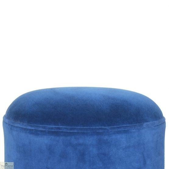 Nordic Style Velvet Upholstered Stool_34