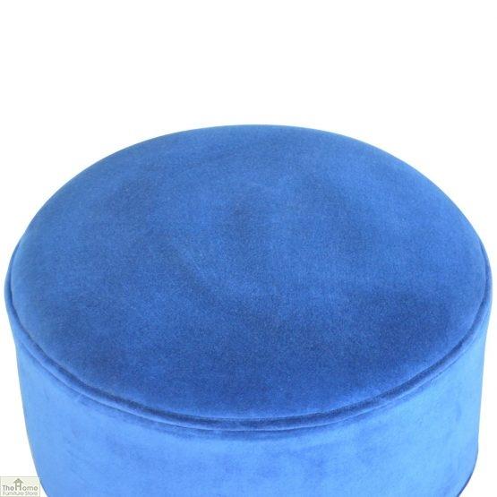 Nordic Style Velvet Upholstered Stool_35