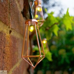 Solar Copper Lantern String Lights_1
