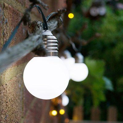 Solar LED Lantern String Lights