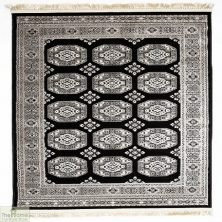Authentic Oriental Monochrome Rug