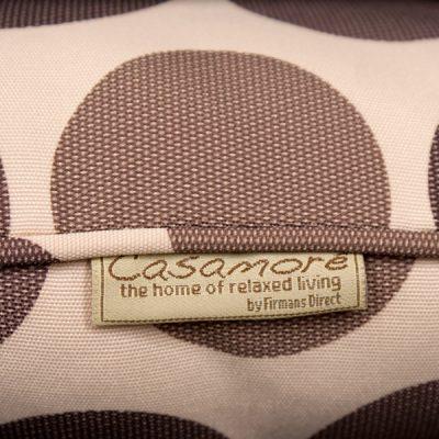 Cream Brown Polka Dot Scatter Cushion_3