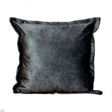 Grey Velvet Cushion Cover