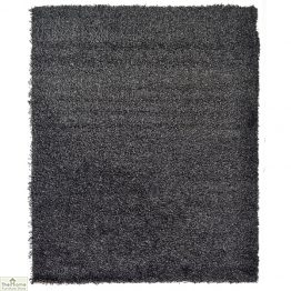 Anthracite Plain Shaggy Rug