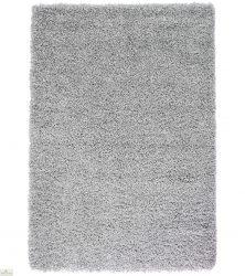 Silver Plain Shaggy Rug