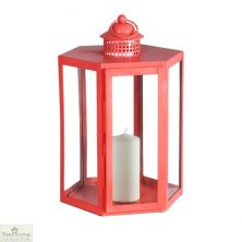 Coral Candle Holder Glass Lantern