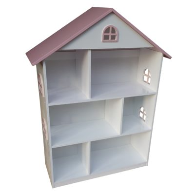 White Dollhouse Bookshelf_2