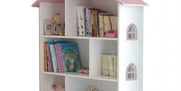 White Dollhouse Bookshelf