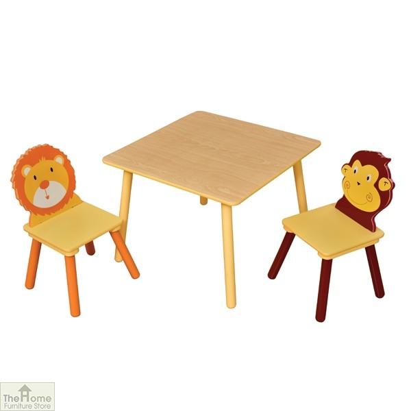 Jungle Table and Chairs