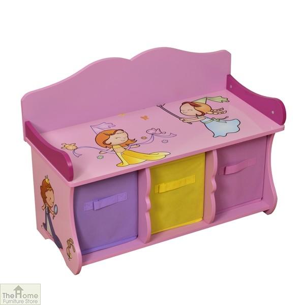 Princess Storage Bench