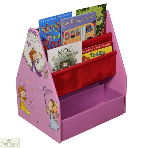 Princess Book Display Storage Blackboard