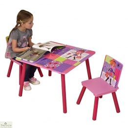 Fashion Girl Table and Chairs_1