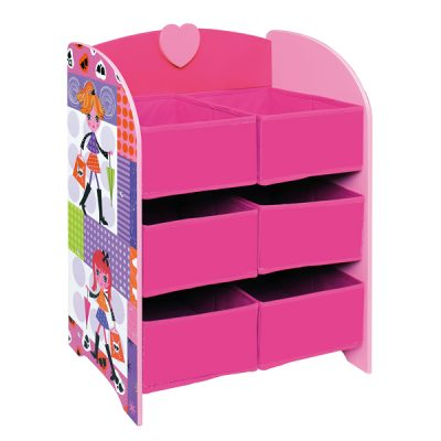 Fashion Girl Storage Shelf_2