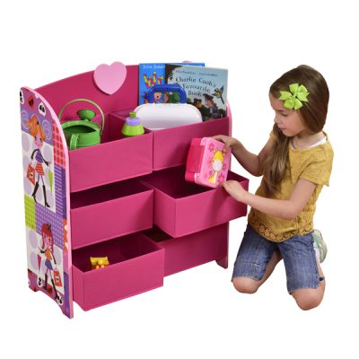 Fashion Girl Storage Shelf_1