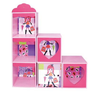 Fashion Girl Stacking Storage Unit_3