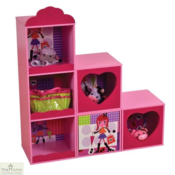 Fashion Girl Stacking Storage Unit