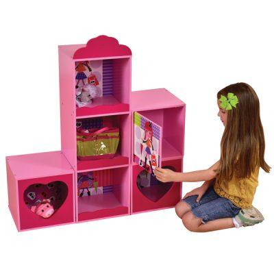 Fashion Girl Stacking Storage Unit_1